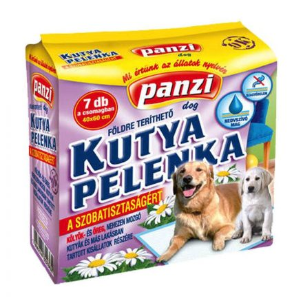 Panzi Helyhez Szoktató Kutya Pelenka 40X60cm 7db