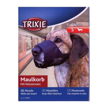 Trixie Szájkosár Hálós Kutyáknak Méret: S
