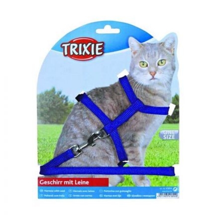 Trixie Cica Hám Szett Metal