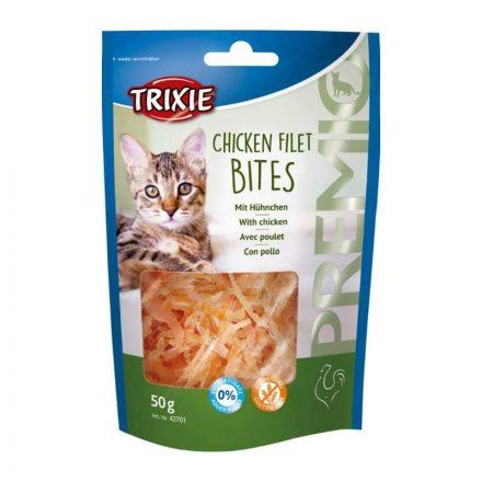 Trixie Jutalomfalat Chicken Filet Bites Cicáknak  50G