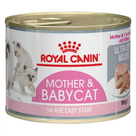 Royal Canin Cica Konzerv Baby Cat Instinctive Habosított  195G