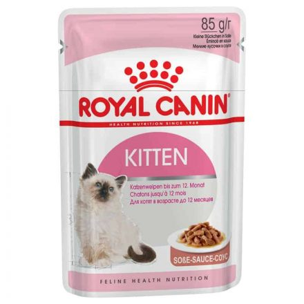 Royal Canin Alutasakos Cica Konzerv Kitten Instinctive Szószos  85G