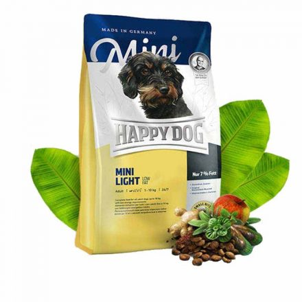 Happy Dog Kutyatáp Mini Light  1Kg