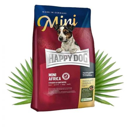 Happy Dog Kutyatáp Mini Africa  1Kg