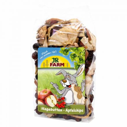Jr Farm Csemege Csipkebogyó és Almaszeletek  125G