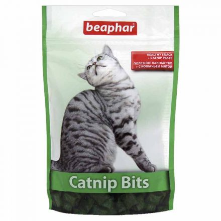 Beaphar Catnip Bits Macskamentás Jutalomfalat Cicáknak  35G
