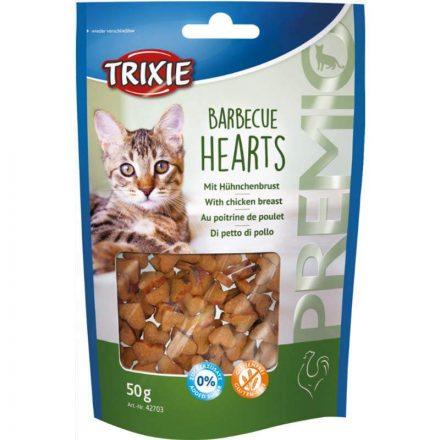 Trixie Jutalomfalat Barbecue Heart Cicáknak -50G