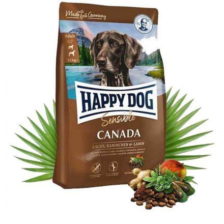 Happy Dog Kutyatáp Sensible Canada Lazac+Nyúl+Bárány  1Kg