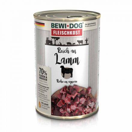 Bewi-Dog Kutyakonzerv Színhús Bárányban Gazdag  400G