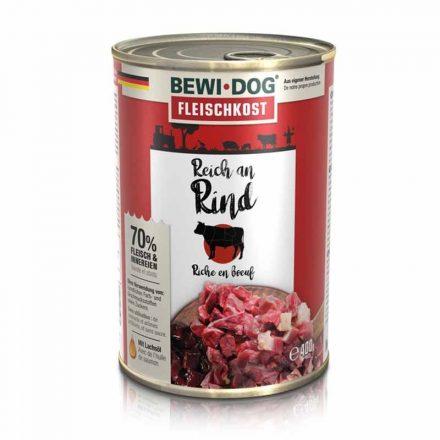 Bewi-Dog Kutyakonzerv Színhús Marhahúsban Gazdag  400G