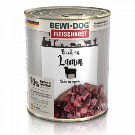 Bewi-Dog Kutyakonzerv Színhús Bárányban Gazdag  800G