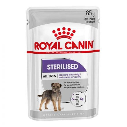 Royal Canin Alutasakos Kutyakonzerv Sterilised  85G