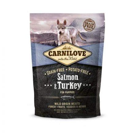 Carnilove Kutyatáp Puppy Salmon & Turkey  1,5Kg
