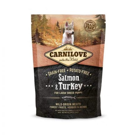 Carnilove Kutyatáp Puppy Large Salmon & Turkey  1,5Kg