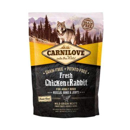 Carnilove Kutyatáp Fresh Adult Csirke & Nyúl Muscles Bonas & Joints  1,5Kg