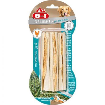 8In1 Jutalomfalat Delight Sticks Dental Kutyáknak