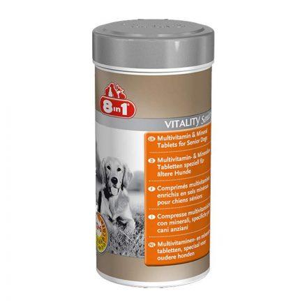 8In1 Vitality Senior Multivitamin Tabletta Idős Kutyáknak  70db