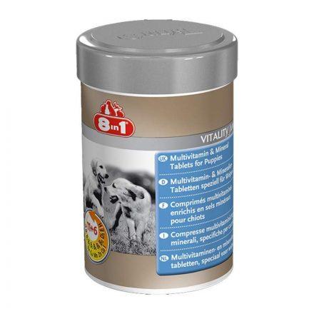 8In1 Vitality Junior Multivitamin Tabletta Kölyök Kutyáknak 100db