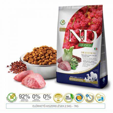 N&D Kutyatáp Quinoa Adult Digestion Lamb  800G