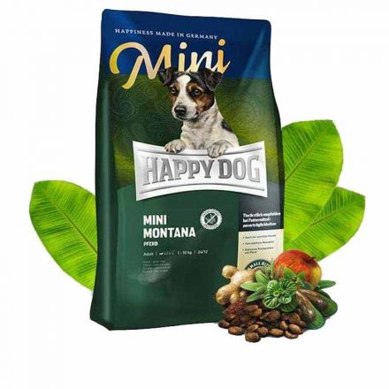 Happy Dog Kutyatáp Sensible Montana Lóhússal  1Kg