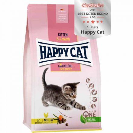 Happy Cat Cicatáp Fit&Well Kitten Baromfi  1,4Kg