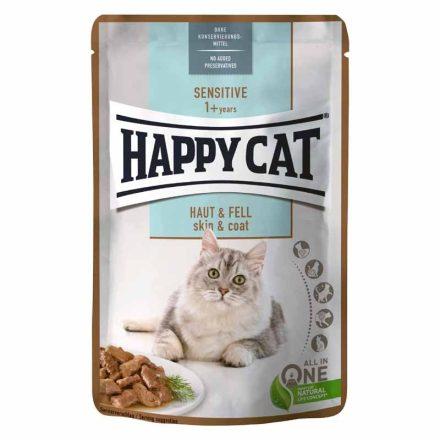 Happy Cat Alutasakos Cicakonzerv Meat In Souce Adult Bárány+Máj (Gazdaságos 24X)  24X85G