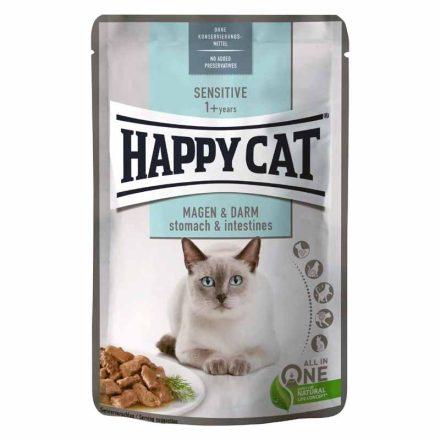 Happy Cat Alutasakos Cicakonzerv Meat In Souce Adult Borjú+Máj (Gazdaságos 24X)  24X85G
