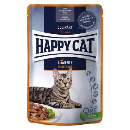 Happy Cat Alutasakos Cicakonzerv All Meat Adult Csirke-Kacsa (Gazdaságos 24X)  24X85G